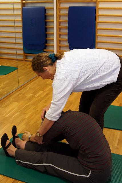 Wirbelsäulengymnastik in der Praxis Schänzer - Physiotime
