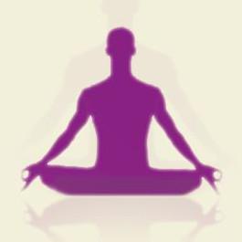 Bild einer meditierenden Person